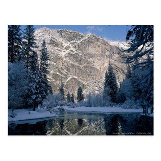 Parque nacional de Yosemite, California los E.E.U. Tarjeta Postal