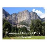 Parque nacional de Yosemite, California Postales