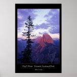 Parque nacional de Yosemite de la media bóveda Impresiones