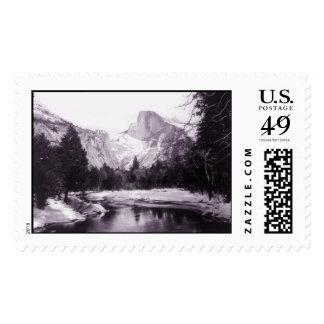 Parque nacional de Yosemite del vintage Sellos