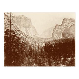 Parque nacional de Yosemite del vintage Tarjetas Postales