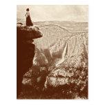 Parque nacional de Yosemite del vintage Tarjeta Postal