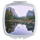 Parque nacional de Yosemite Espejos De Maquillaje