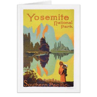 Parque nacional de Yosemite Felicitacion