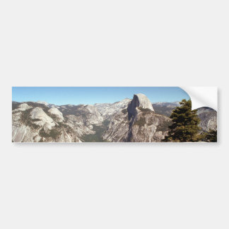 Parque nacional de Yosemite media montaña de la b Etiqueta De Parachoque