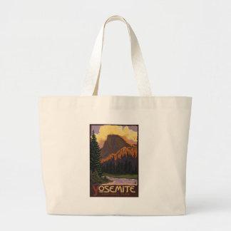 Parque nacional de Yosemite - medio poster del via Bolsa De Mano