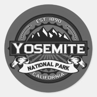 Parque nacional de Yosemite Etiqueta Redonda