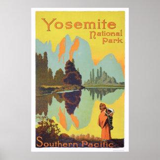 Parque nacional de Yosemite Póster