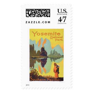Parque nacional de Yosemite Sello Postal