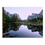 Parque nacional de Yosemite Tarjeta Postal