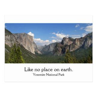Parque nacional de Yosemite Tarjetas Postales