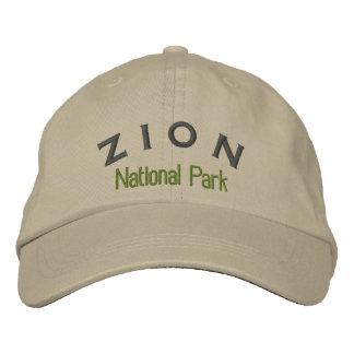 Parque nacional de Zion Gorros Bordados