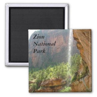 Parque nacional de Zion Imanes Para Frigoríficos