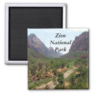 Parque nacional de Zion Imán Cuadrado