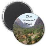 Parque nacional de Zion Imán De Frigorifico