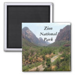 Parque nacional de Zion Imán De Nevera