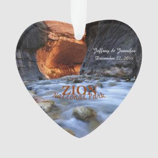 Parque nacional de Zion, los estrechos, ornamento