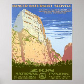 Parque nacional de Zion Impresiones