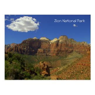 Parque nacional de Zion, postal de Utah