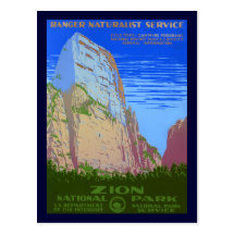 Parque nacional de Zion Postales