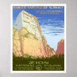 Parque nacional de Zion Posters