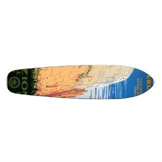 Parque nacional de Zion Skateboard
