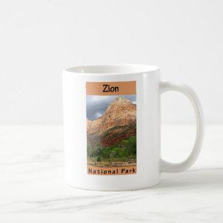 Parque nacional de Zion Tazas