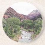 Parque nacional de Zion, Utah, los E.E.U.U. 1 Posavasos Personalizados