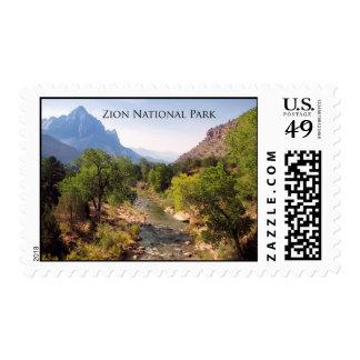Parque nacional de Zion, Utah Sello