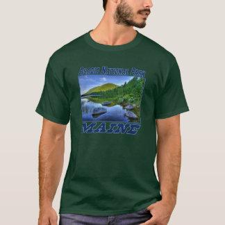 Parque nacional del Acadia - camiseta oscura