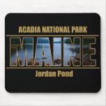 Parque nacional del Acadia de la fuente de la imag Tapetes De Ratón