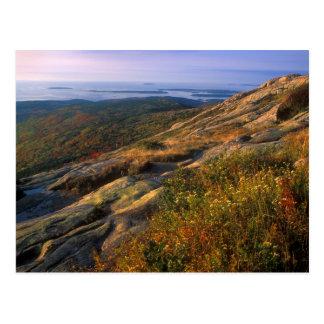 Parque nacional del Acadia de la montaña de Postal