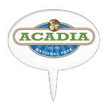 Parque nacional del Acadia Decoración De Tarta