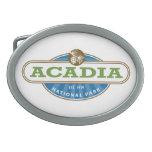 Parque nacional del Acadia Hebillas Cinturón Ovales