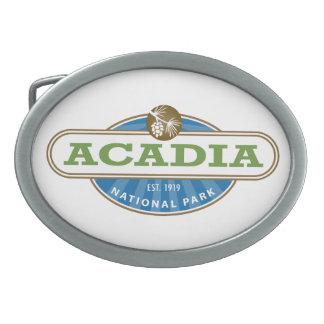 Parque nacional del Acadia Hebilla Cinturón Oval