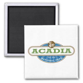 Parque nacional del Acadia Imán De Nevera
