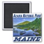 Parque nacional del Acadia - imán de Maine