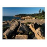 Parque nacional del Acadia, Maine 2 Tarjeta Postal