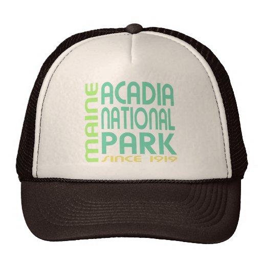 Parque nacional del Acadia, Maine Gorros