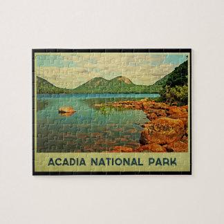 Parque nacional del Acadia Puzzle Con Fotos