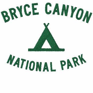 Parque nacional del barranco de Bryce Camiseta Polo Bordada