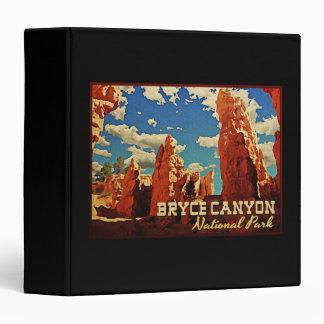 """Parque nacional del barranco de Bryce Carpeta 1 1/2"""""""
