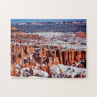 Parque nacional del barranco de Bryce Puzzle Con Fotos