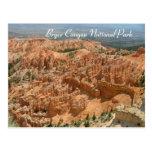 Parque nacional del barranco de Bryce Tarjetas Postales