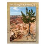 Parque nacional del barranco de Bryce, Utah Postal