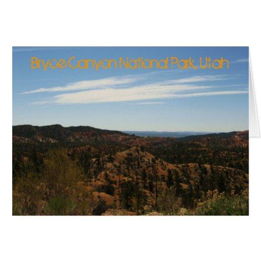Parque nacional del barranco de Bryce, Utah Tarjetas