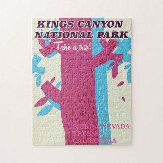 parque nacional del barranco de los reyes, poster rompecabeza