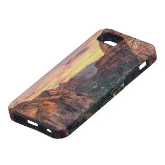 Parque nacional del barranco de Zion iPhone 5 Funda