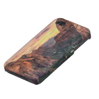Parque nacional del barranco de Zion iPhone 4/4S Carcasas