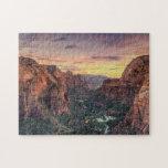 Parque nacional del barranco de Zion Puzzles